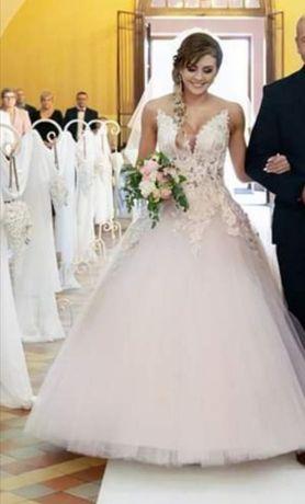 Suknia princessa princeska księżniczka Agora 36-38