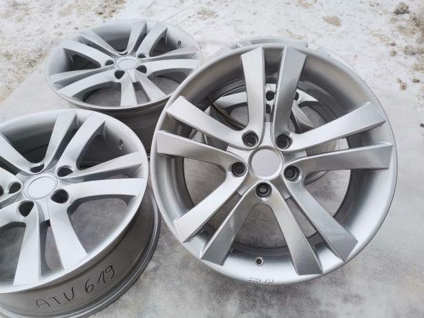 """Alufelgi 5x112 17"""" ET35 Audi A4 A6 Seat Skoda VW Passat Mercedes W211"""