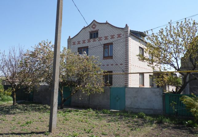 Продаётся 2-этажный дом в Скадовске у Чёрного моря