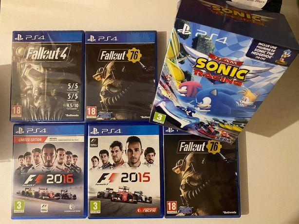 Vendo jogos Playstation 4 Novos e Usados