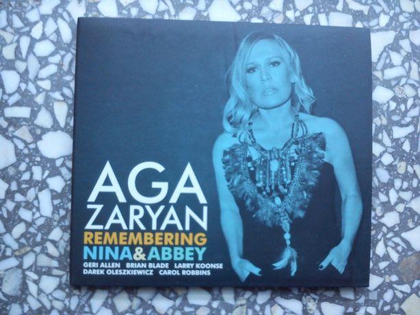 "Aga Zaryan ""Remembering Nina & Abbey"" CD"