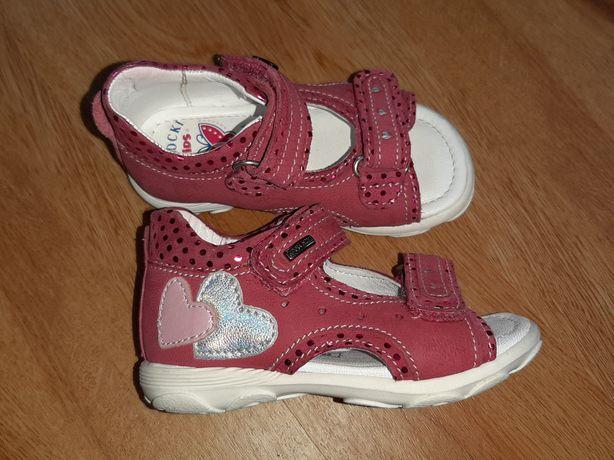 Sandały 20 Lasocki Kids sandałki 13 cm skórzana wkładka