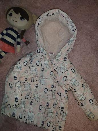 Куртка курточка на флісі дитяча Pepco  86см