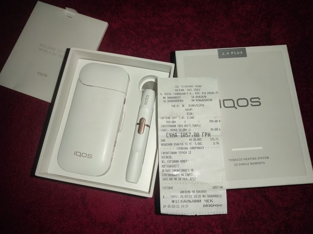 Iqos 2.4 plus + подарунок