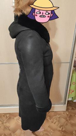 Дубленка BERTINI, розмір 48-50, натуральна шкіра.