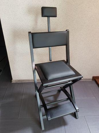 Krzesło charakteryzatorskie, do makijażu, wizażysty