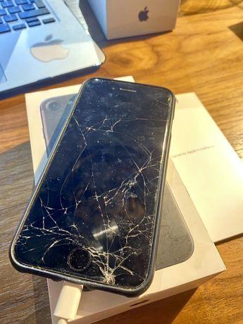 Iphone 7 32 GB CZARNY. uszkodzony!!