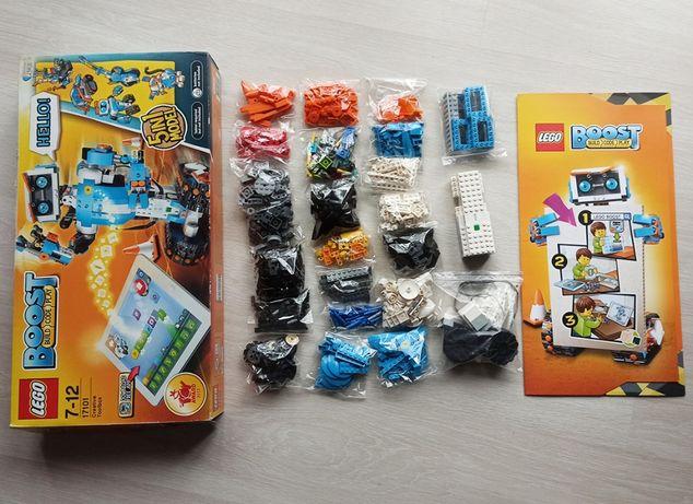 Lego Boost конструктор 5 в 1. Полный комплект. Возраст 7-12 лет