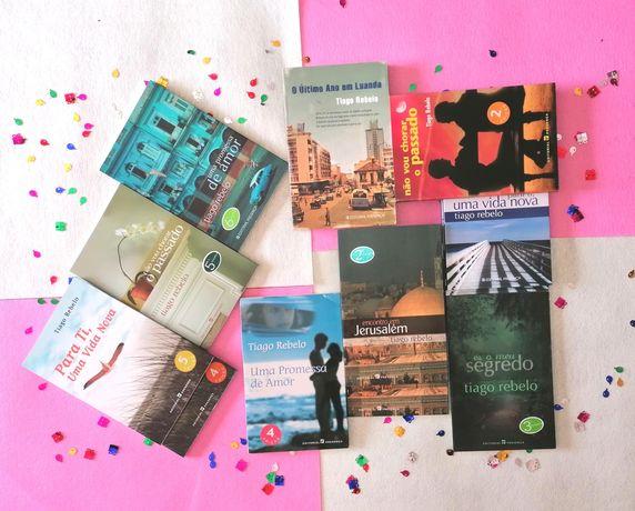 Autores Portugueses-Desde 2€-José Rodrigues dos Santos, Tiago Rebelo