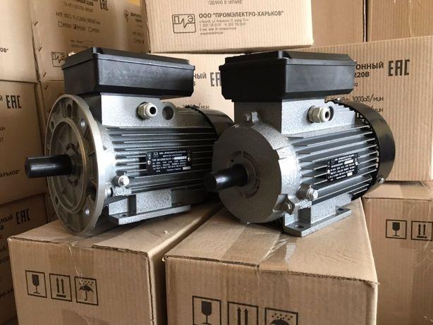 Электродвигатель, електродвигун, мотор, АИР, 220В 380В 2,2 3,0