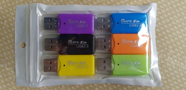 Przejściówka USB do kart pamięci