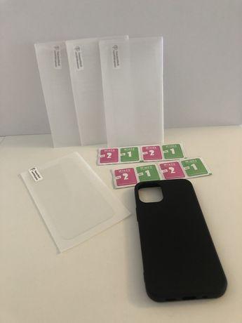 Iphone 12 mini case i szkło hartowane x4