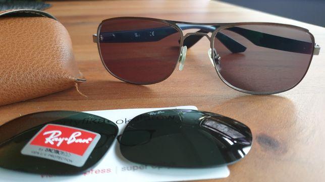 okulary Ray ban męskie