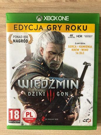 Wiedźmin 3 / Xbox one X / Gry