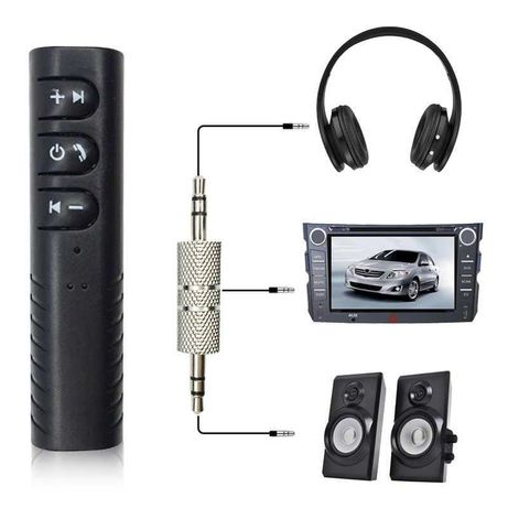 Bluetooth Aux Ресивер + мікрофон гучний зв'язок Блютуз Аукс трансмітер