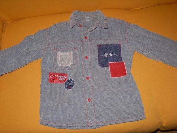 Camisa Pré Natal 4 a 5 anos+calças zara creme 4 anos