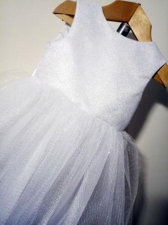 Новогоднее карнавальное пышное платье
