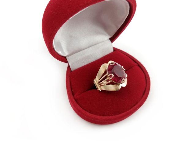 Złoty pierścionek BOGATO ZDOBIONY 585 6,92G R16