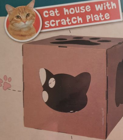 Legowisko- pudełko dla kota