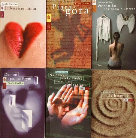 Paulo Coelho - 6 książek z serii kieszonkowej