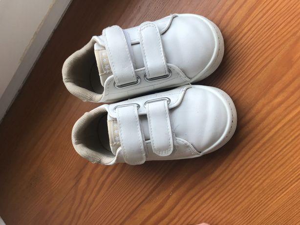 Adidasy chłopięce hm białe rozmiar 23