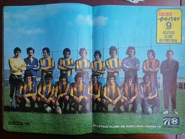 Poster Atlético Clube de Portugal 1976