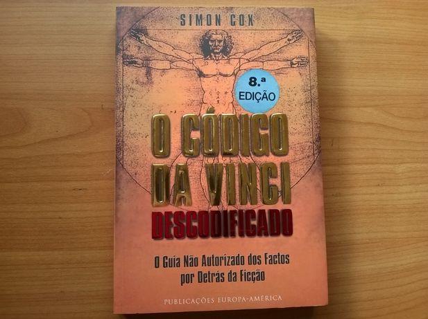 O Código Da Vinci Descodificado - Simon Cox