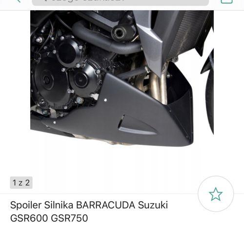 Spoiler Silnika Pług Barracuda Suzuki Gsr 600 Gsr 750