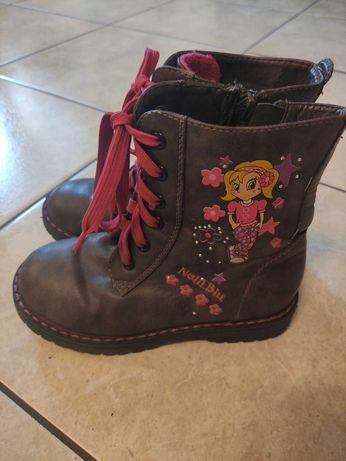 Śliczne buty dla małej księżniczki