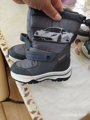 Зимние сапожки ботинки зима осень для мальчика Lupilu