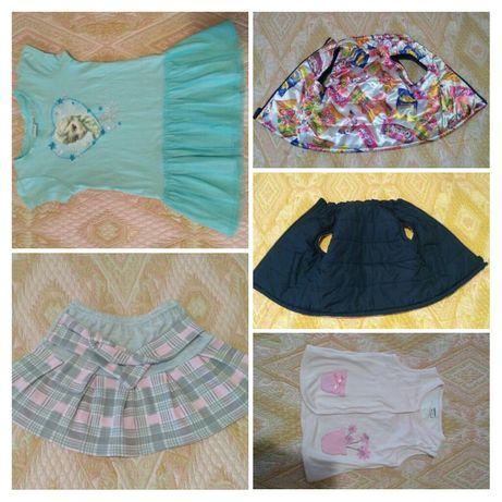Платье детское, жилеточка на девочку, юбка детская, платтячко, до 2,5