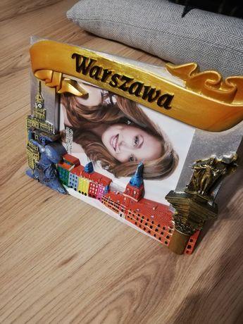 Ramka kolekcjonerska Warszawa