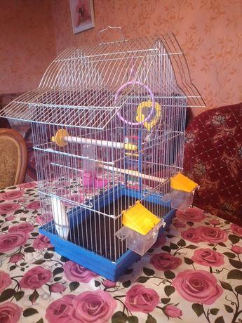 Клетка для попугаев 2-их большая