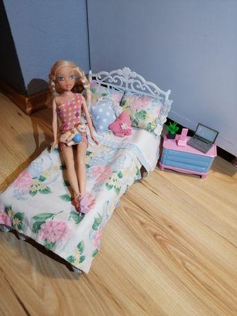 Zestaw sypialnia Barbie + Lalka