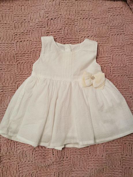 Biała sukieneczka 5.10.15 na chrzest
