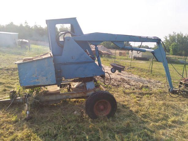 Cyklop ładowacz, maszyna rolna, koparka