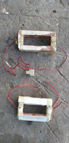 Вторичная высоковольтная обмотки с трансформатора микроловновки