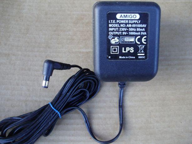 Блок питания AC Adapter 9V, 1A, Amigo I.T.E. Power Supply AM-091000AV