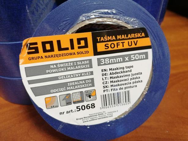 Taśma malarska SOFT UV 38mm/50mb SOLID 24szt