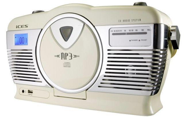 radioodtwarzacz cd , retro , ices iscd-33 , lombard madej sc