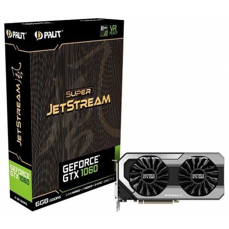 Видеокарта Palit GeForce GTX 1060 6gb Super JetStream