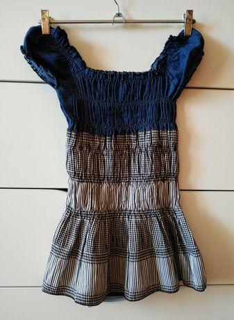Летнее платье на девочку стрейчевое сарафан