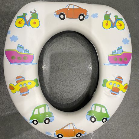 Miękka nakładka na toaletę dla dziecka