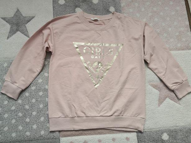 Nowa bluza Girls pudrowy róż WYSYŁKA 1 ZŁ