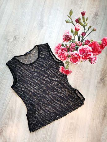 Elegancka bluzka bluzeczka koszulka ZARA 36