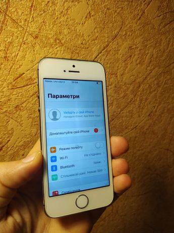 Apple iphone 5s 16gb space grey white лочений рсім rsim айфон 5s