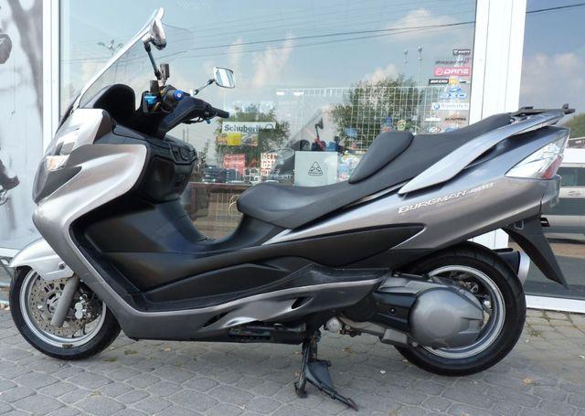 Suzuki Burgman 400 grafitowy bezwypadkowy b. dobry stan 2008