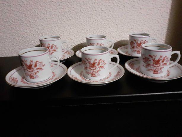 Chávenas Café Tripoli Rosa Vista Alegre
