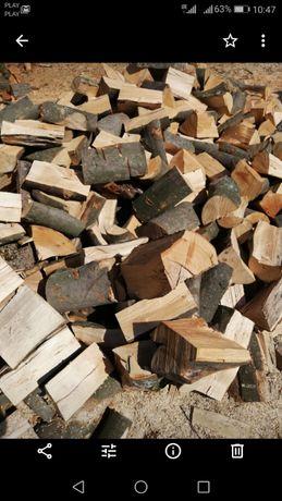 Suche drewno do kominka buk,dab