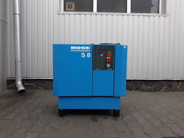 Kompresor sprężarka BOGE S 8 5.5 KW 10 bar 800 lm